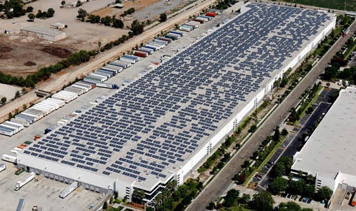 Highland Commercial Roofing Is Pleased To Announce The Completion Of The  Stion Solar Lease Roof Prep Project For The 500,000 Square Foot NFI  Warehouse And ...