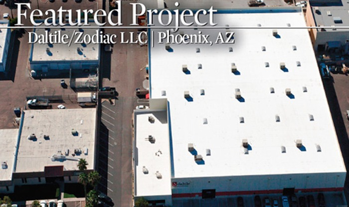 DaltileZodiac LLC Commercial Roof Overhaul Phoenix Arizona - Daltile phoenix az