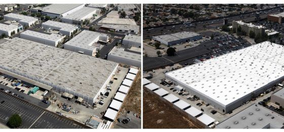 Wonderful Highland Commercial Roofing Reroofs 210,000 Square Foot Commercial  Cosmetics Manufacturing Facility Roof